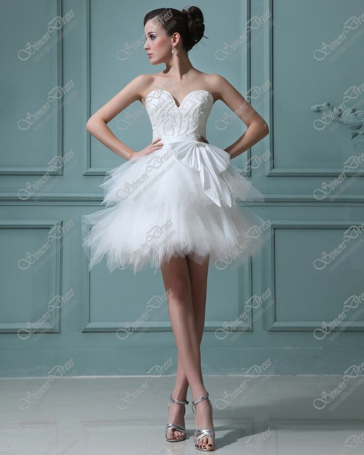 LEVNÉ Cenu Lemování miláček Krátké Svatební šaty Svatební šaty - Short / Mini Svatební šaty - levně svatební šaty