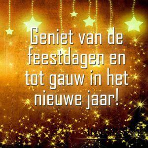 Geniet van de Feestdagen en tot in het Nieuwe jaar... .....lbxxx.
