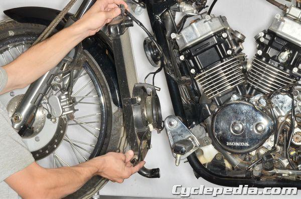 Honda VT750 Shadow Spirit Cooling System Honda VT750DC