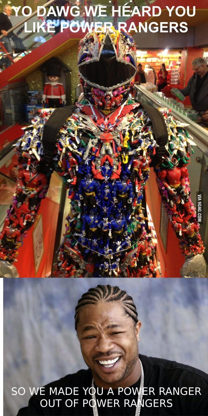 You like Power Rangers too?