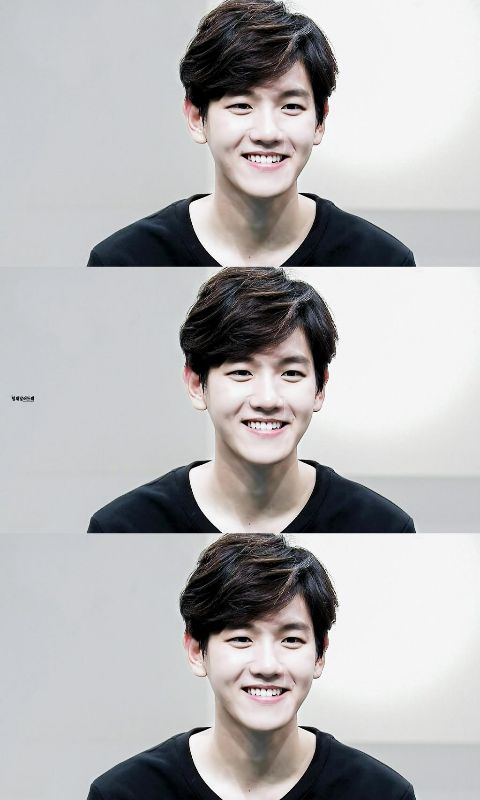 Baekhyun #EXO he's boyfriend material I mean look at him!