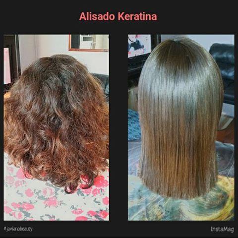 Alisado Keratina #cabellosaludable #hairinstagram #cabellohermoso #javianabeauty #cabelloliso #keratinhair.