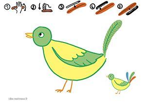 Des activités sur le thème des oiseaux : les plumes ( anatomie, écriture, pâte à modeler), pour des enfants de l'école maternelle ( MS GS).