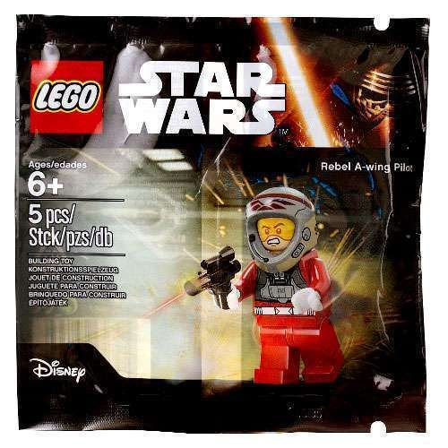 LEGO Star Wars Rebel A-Wing Pilot Set/Bag New/Sealed!! 5004408 5pc!! Age 6+ Toy #LEGO