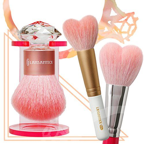LSY LAMSAMYICK Beauty Make Up Blush Brush  Powder Brush Set ** Check out the image by visiting the link.