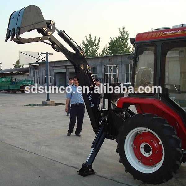 mini tractor backhoe for sale/ farm tractor backhoe equipment
