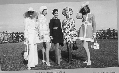 1962 - Fashions on the Field was first conducted at Victoria Racing Club