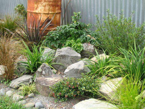 idée d'aménagement de jardin rocaille