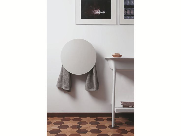 Secatoallas eléctrico de pared de aluminio ROUND by mg12 diseño Monica Freitas Geronimi