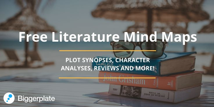 Mind Maps, From The Free Biggerplate Library, Focusing On English Literature.  Check Out