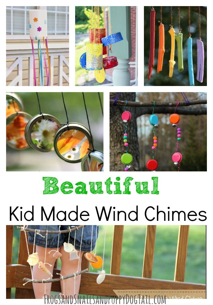 Beautiful Kid Made Wind Chimes