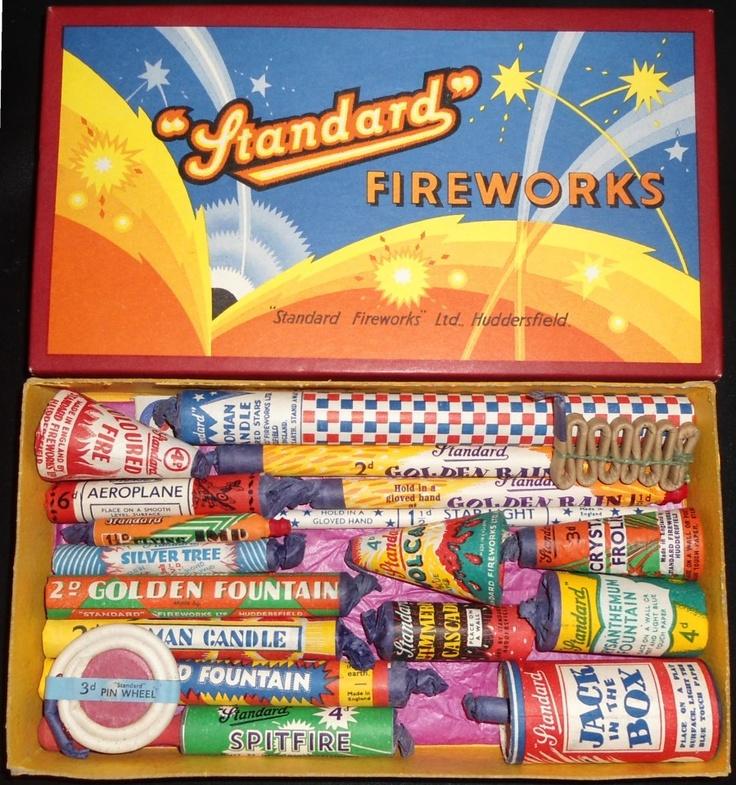 A box of Standard Fireworks