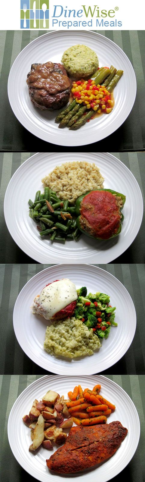 Four Delicious DineWise Prepared Meals. http://www.prepared-meals.com/Meal-Delivery-Services/DineWise-Reviews.html