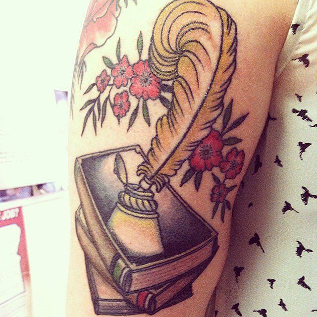 Literarytattoos literary art tattoos pinterest for Minimalist tattoo artist austin