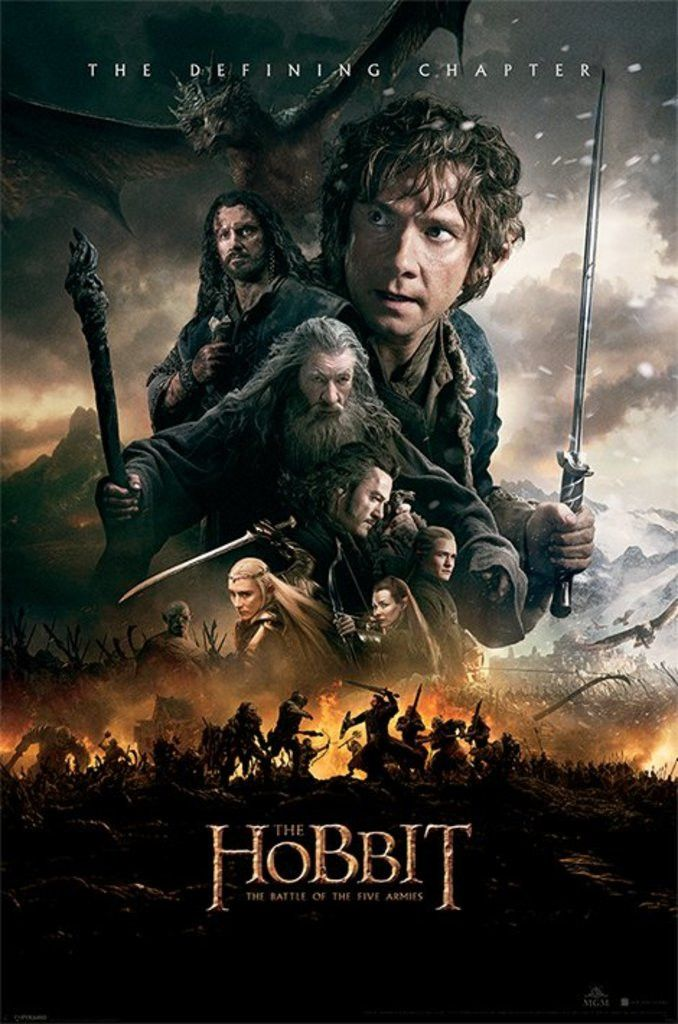 The Hobbit - The Battle of the Five Armies - One Sheet - Official Poster