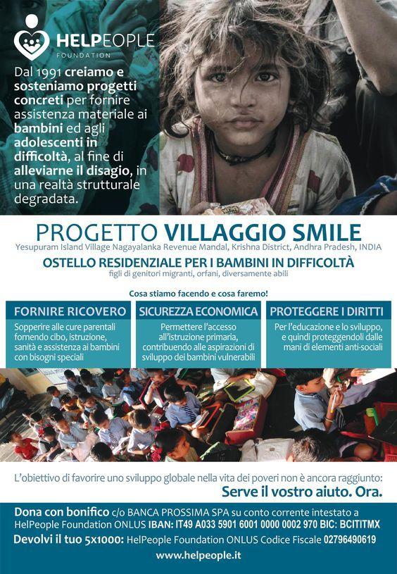 Buona #domenica dai nostri #bambini di #VillaggioSmile. www.helpeople.it