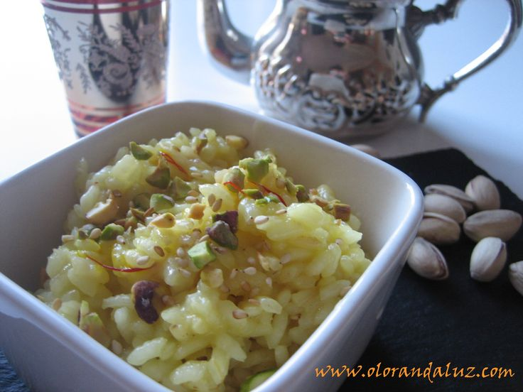 Arroz con azafrán http://www.olorandaluz.com/arroz-con-azafran/ #receta #food