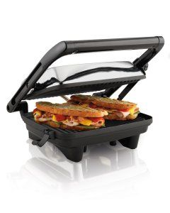 Hamilton Beach has the best Panini Press for you with loads of features to keep your life spiced up. We were able to make many mouth watering as well as super tasty snacks with the Panini Press Grill