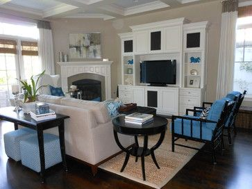 Corner Fireplace Entertainment Center White Design, Pictures, Remodel, Decor and…   – PAint colors I love