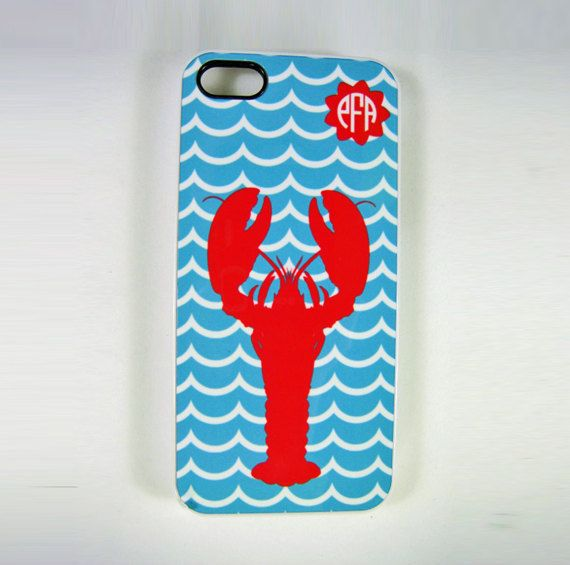 iPhone 4 4S or 5 Cell Phone Case Lobster | Lobsters | Pinterest | Cell phone cases and Phone