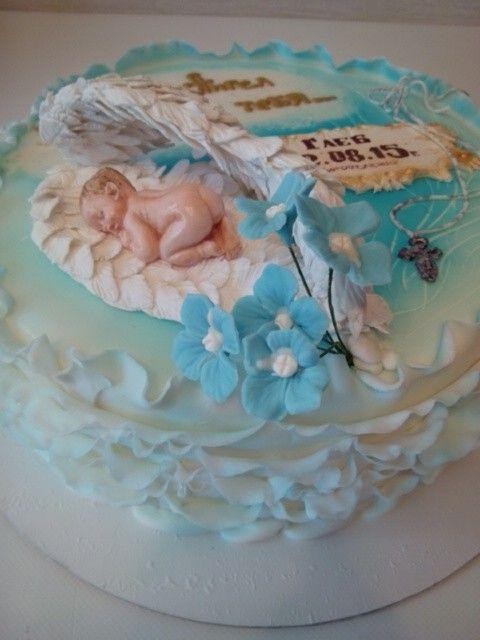 Детский торт на крестины