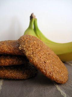 Μπισκότα βρώμης με μπανάνα και καρύδα - The one with all the tastes