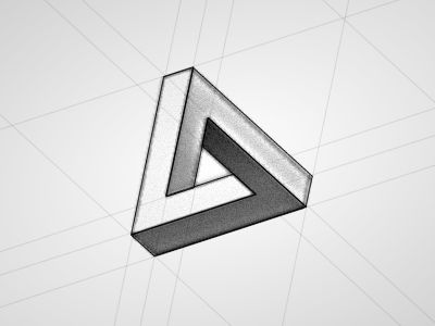 """Penrose triangle tattoo. said Alice; """"one can't believe impossible things."""""""