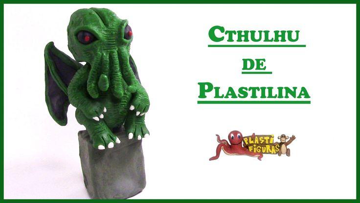Como Hacer a Cthulhu de Plastilina/ Porcelana Fria/ How to Make Cthulhu ...
