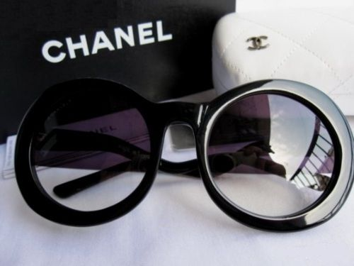 chanel glasses. giant chanel sunnies\u2014always classic. glasses b