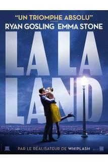 LA LA LAND : charmant   Au coeur de Los Angeles, une actrice en devenir prénommée Mia (Emma Stone) sert des cafés entre deux auditions. De son côté, Sebastian (Ryan Gosling), passionné de jazz, joue du piano dans des clubs miteux pour assurer sa subsistance.Tous deux sont bien loin de la vie rêvée à laquelle ils aspirent Le destin va réunir ces doux rêveurs, mais leur coup de foudre résistera-t-il aux tentations, aux déceptions, et à la vie trépidante d'Hollywood ?