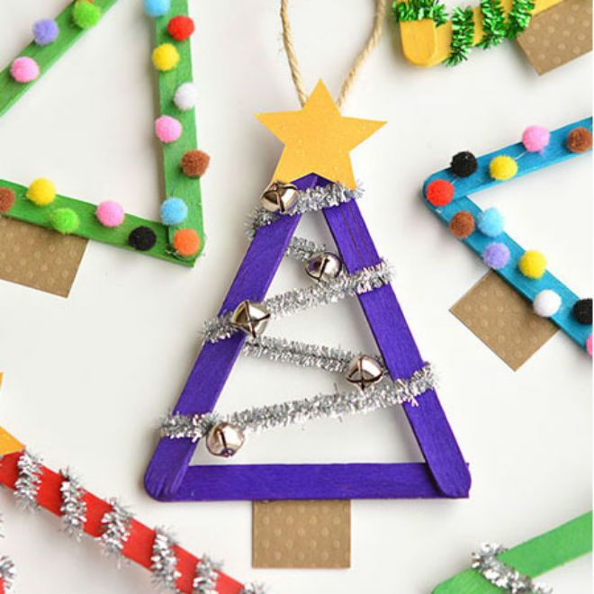 Christian Christmas Craft Ideas Part - 31: 11 Fun Popsicle Stick Crafts