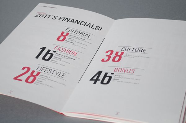 Heinz annual report on Behance