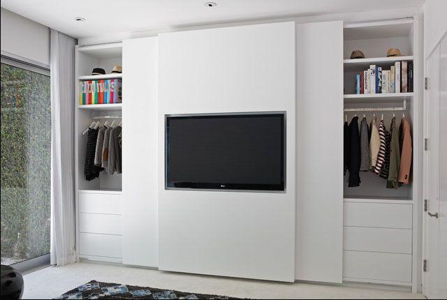 Ocultar armarios con puertas deslizantes