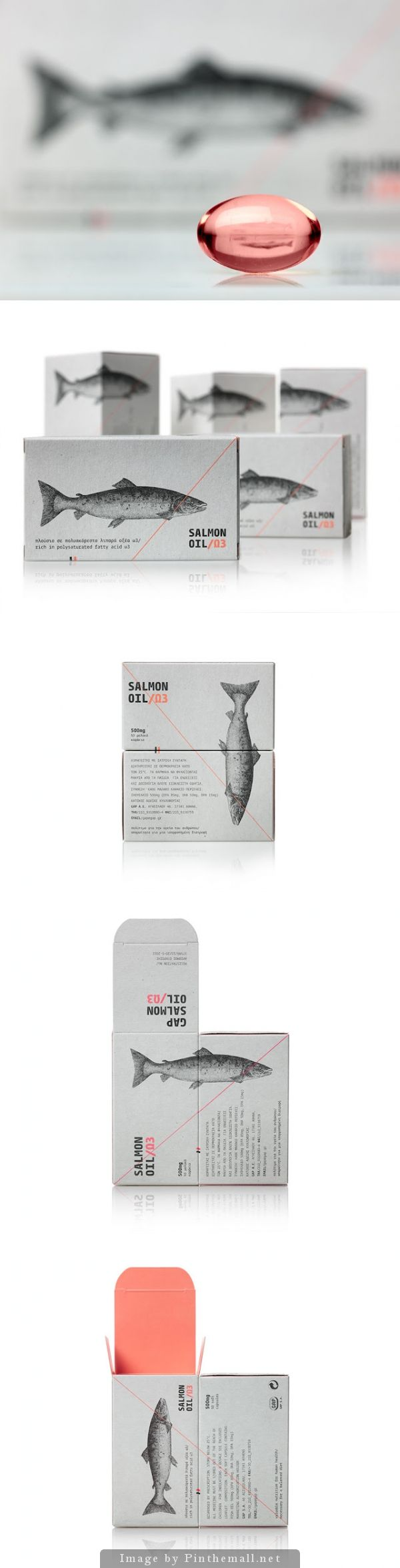 Salmon Oil Agency: mousegraphics Type of work: Commercial work Country: Greece PD