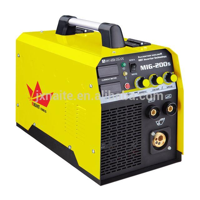Home use portable IGBT inverter 200a mig mag mma maquina de soldar