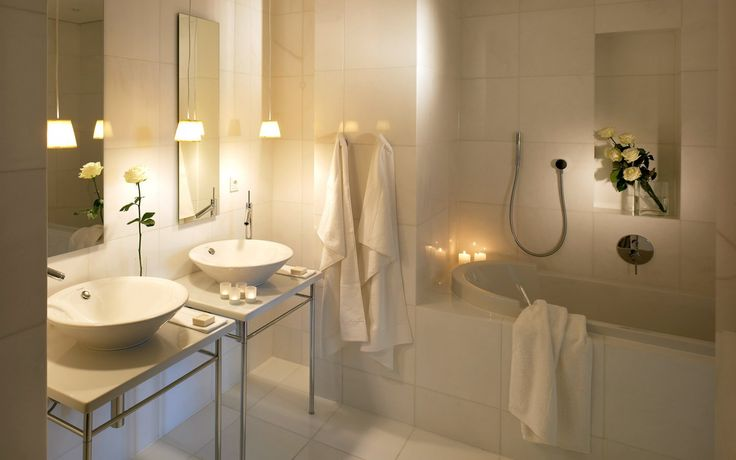 Axor Starck bathroom collection seen in Yoo Appartement in Munich.