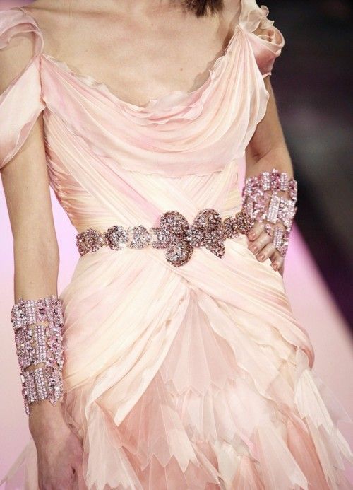 Christian Lacriox: Fashion Details, Christian Lacriox, Christian Lacroix, Couture Spring, Dresses, High Lacroix, Spring 2007, Pink Dress, Haute Couture