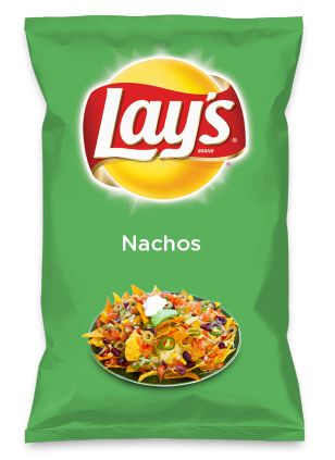 Wouldn't Nachos be yummy as a chip? Lay's Do Us A Flavor is back, and the search is on for the yummiest flavor idea. Create a flavor, choose a chip and you could win $1 million! https://www.dousaflavor.com See Rules.