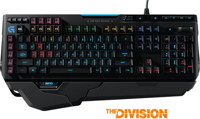 Gaming Keyboards - mechanical keyboards, programmable keys, control panels and illuminated RGB – Logitech G