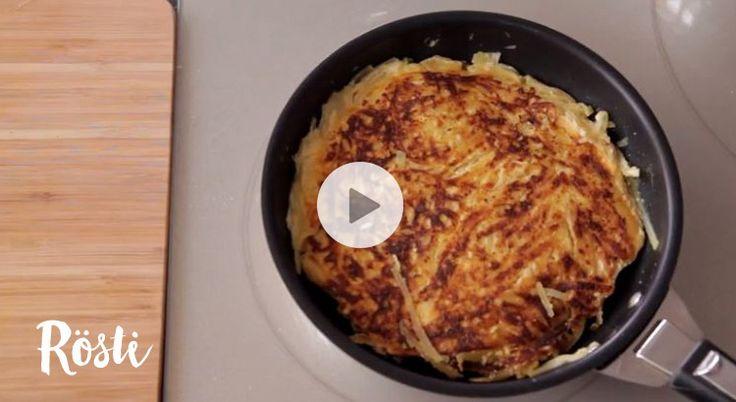 Découvrez en images une recette facile de rösti, un classique de la cuisine suisse.