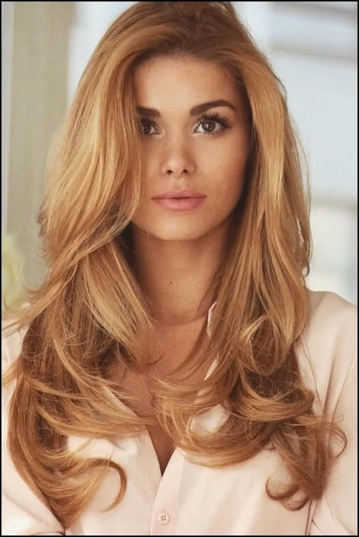 Multi Hair Color Ideas 2018 With Images Strawberry Blonde Hair