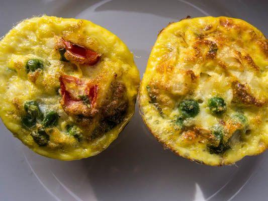 Mangler du inspiration til din madpakke? Forleden lavede jeg disse ægge-muffins. De er nemme at lave...