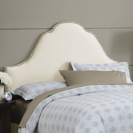 Skyline Furniture Plain High Arch Upholstered Headboard & Reviews | Wayfair