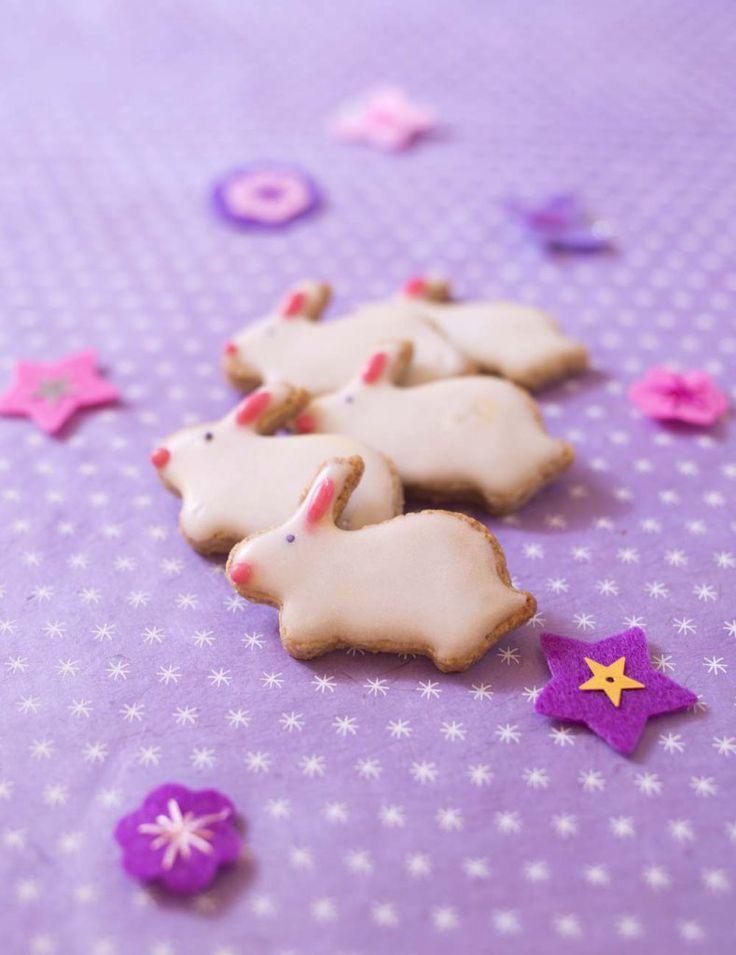Sablés lapins de Pâques - Ôdélices : Recettes de cuisine faciles et originales !