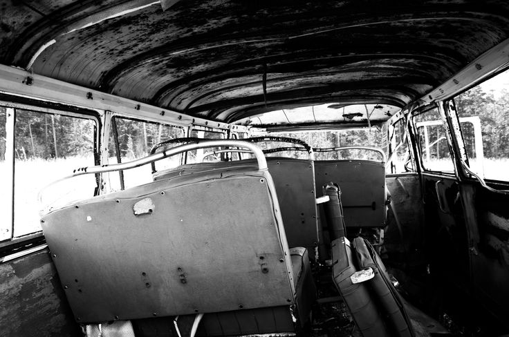 An abandoned bus. Photographed in 2016, edited in Camera raw. Credit me if you are going to use it.