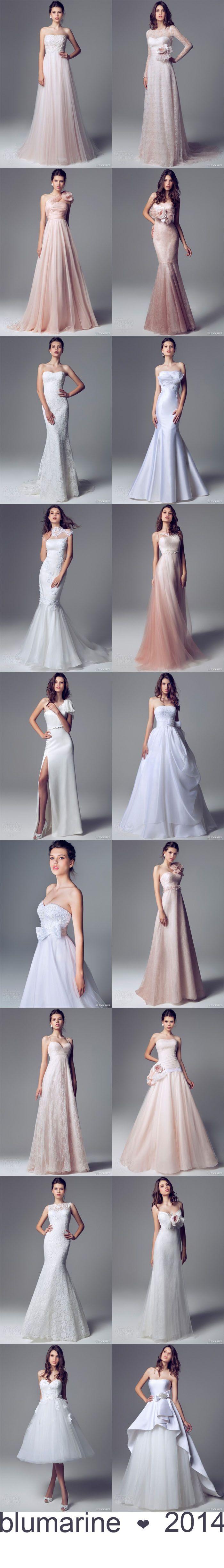 Elegancia & báj: Blumarine 2014 kollekció | Esküvőhírek - végig Veled!  A Blumarine 2014-es menyasszonyi ruhakollekciója a nőies, elegáns vonalakról és a gyengéd árnyalatokról szól.  További ruhák és esküvői tippek itt: http://eskuvohirek.hu/hiressegek_stilus/elegancia-baj-blumarine-2014-kollekcio