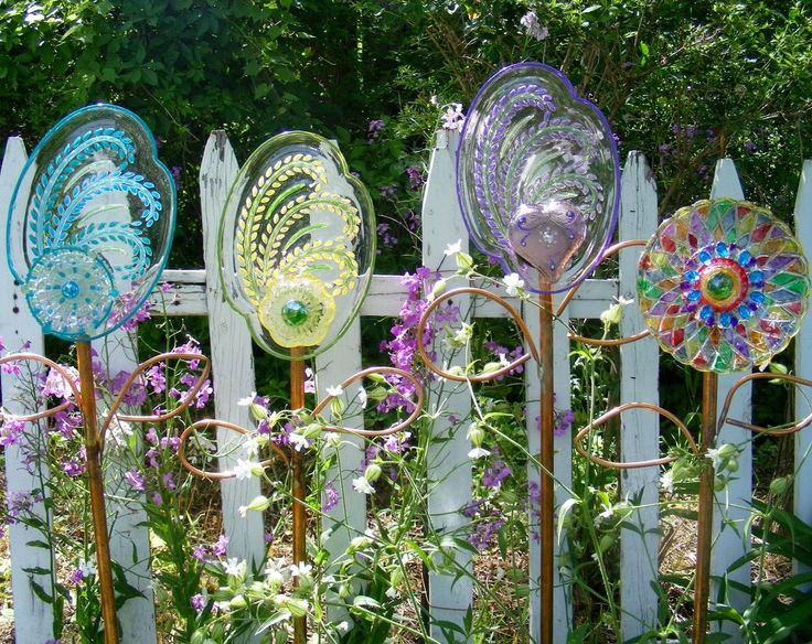 Garden Flower Art 1494 best garden - yard art and other garden crafts images on