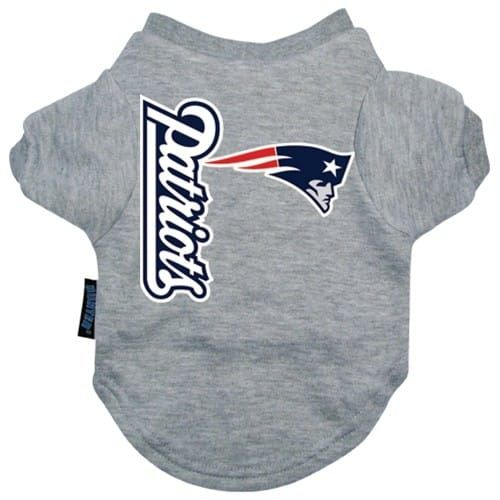 Shop where every purchase helps shelter pets! New England Patriots Dog Tee Shirt - from $18.95