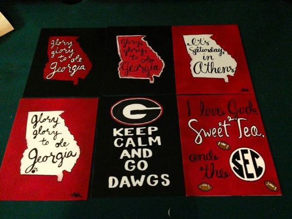 Uga It S Saay In Athens Canvas 11x14 By Southernhomeremes