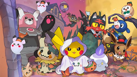 Beware Pokémons Spooky Halloween Roundup (Pokemon GO event and more)   October is here and that means one thing: it's time to start gearing up for Halloween! To help celebrate this spooky season we've gathered together all the frightful fun that we've been working hard to bring you. Where will you go first? Make your choice and prepare for a hauntingly good time!  Ghostly Goodies in Pokémon GO  The Halloween season is a special time in Pokémon GO. Plenty of good stuff is coming to the game…